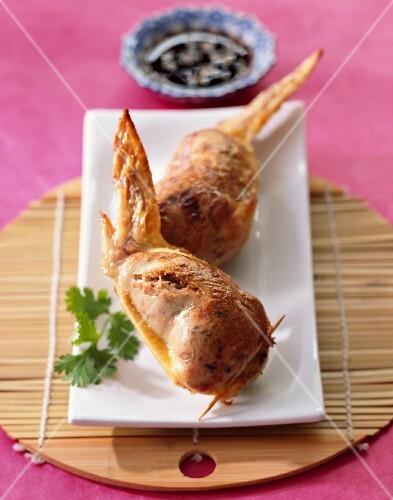 Thai chicken wings