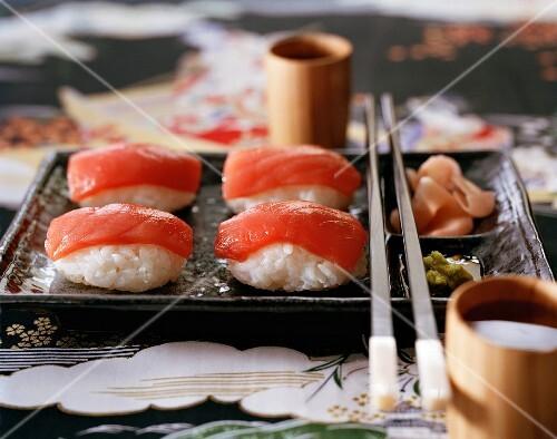 Tuna fish sushi