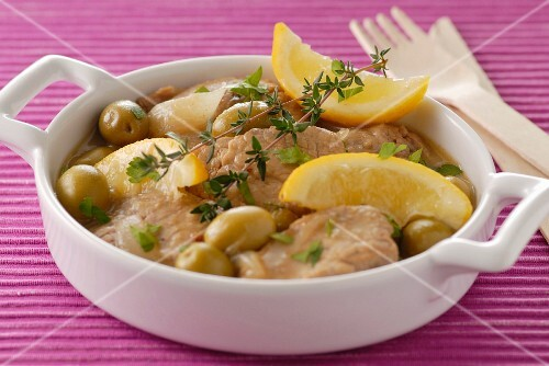 Mediterranean veal stew