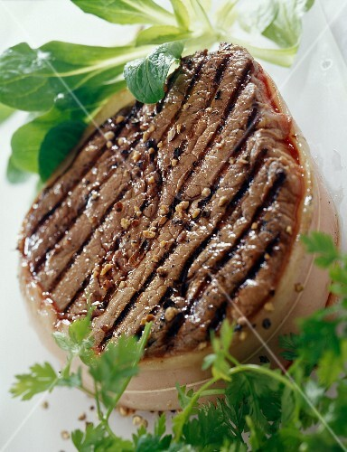 Grilled Chateaubriand steak