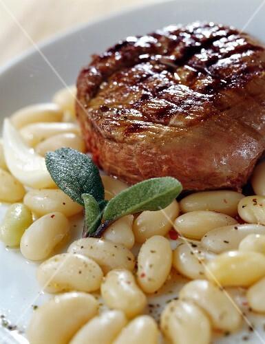 Duck steak