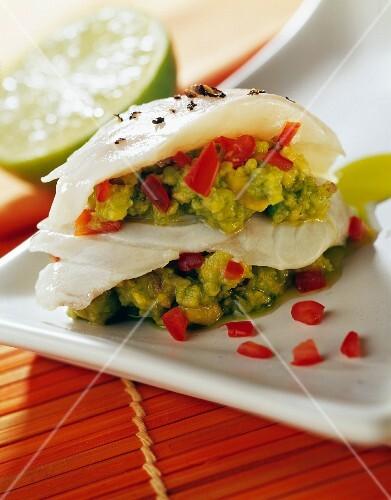Fish and avocado Feroce