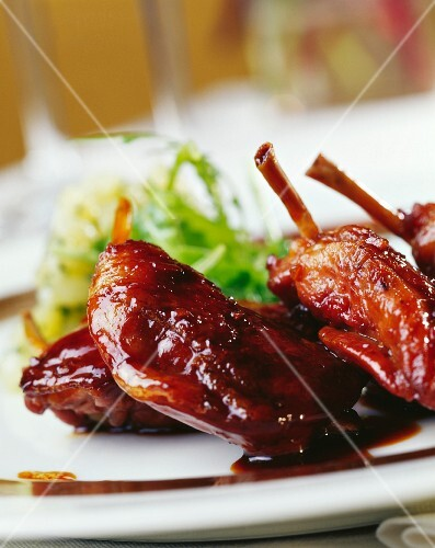Quail roasted with Port