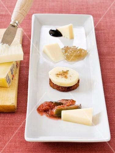 Gruyère bite-size aperitifs
