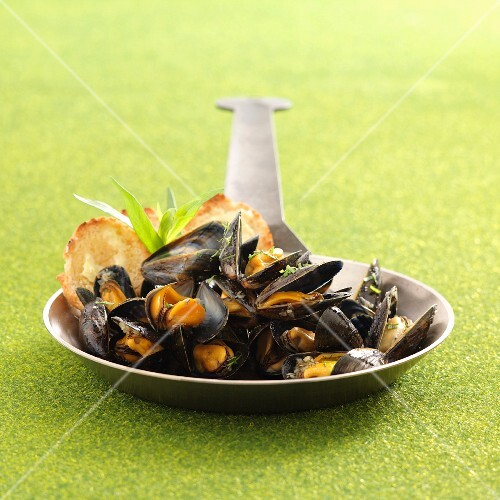 Mussels en brasucade