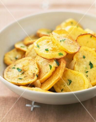 Potatoes à la sarladaise
