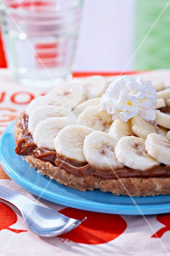 Milk jam and banana pie