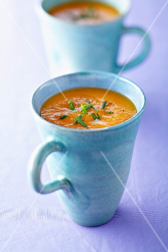Anti-aging carrot and cumin soup