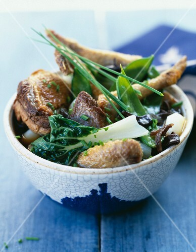 Pigeon and chinese vegetable stew
