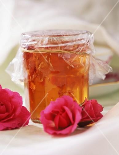 Rose petal jelly