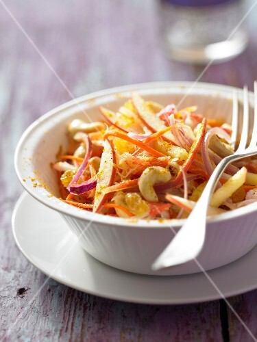 Indian-style apple salad