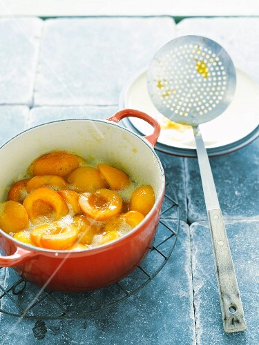 Stewed apricots