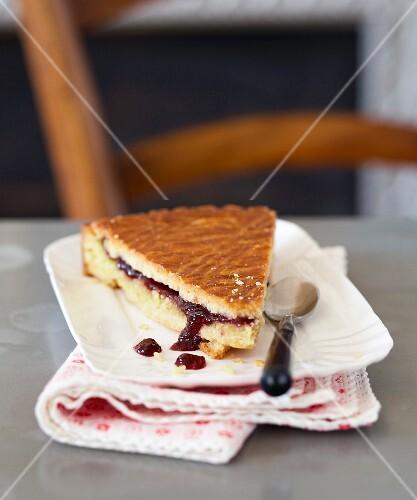 Cherry jam Gâteau Basque
