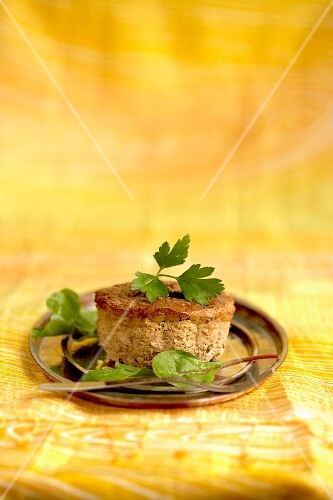 Chicken liver savoury cake from Bresse
