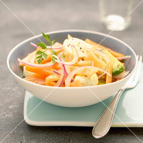 Haut Poitou melon salad