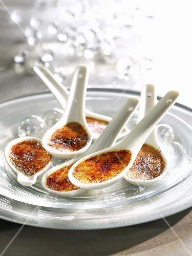 Small foie gras Crèmes brûlées