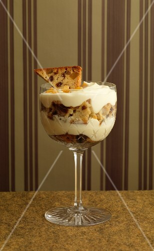 Fruit cake,grape and Grappa Tiramisu