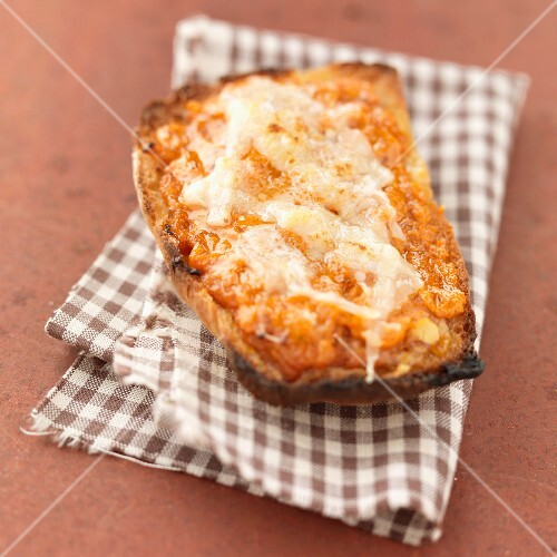 Pepper and parmesan Bruschetta