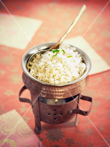 Basmati Kala Jeera rice with cumin,cloves and cardamom