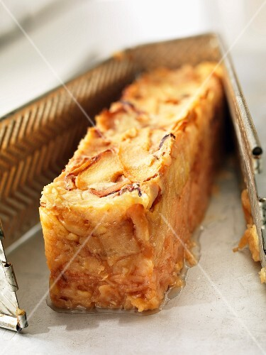 Apple and quince terrine