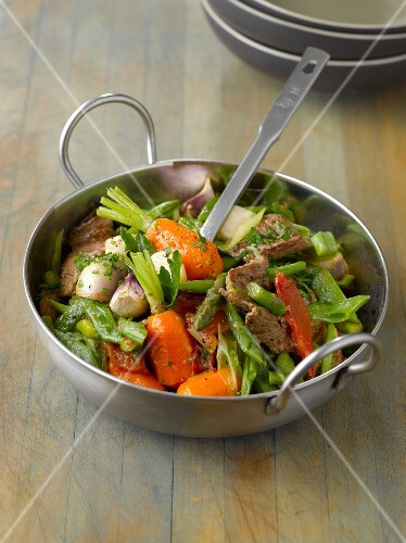 Lamb and vegetable spring Navarin