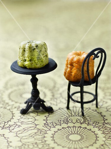 Broccoli and carrot savoury Cannelés