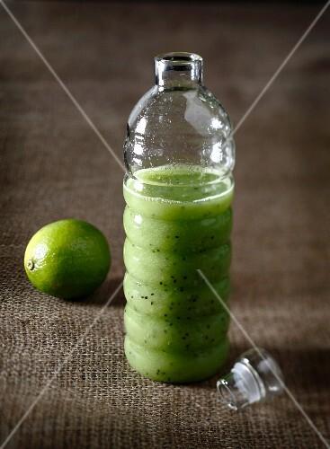 Granny Smith apple,kiwi and lime juice