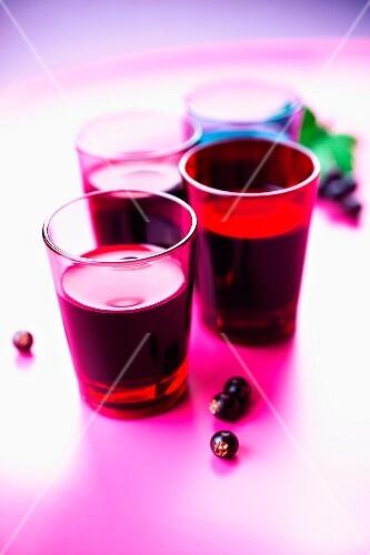 Aphrodisiac blackcurrant juice