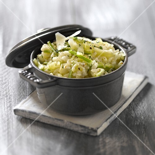 Fennel and parmesan risotto