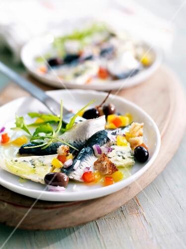 Sardine carpaccio