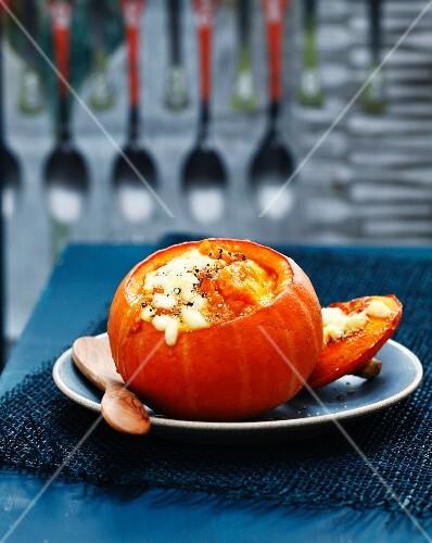 Pumpkin with Comté Cheese