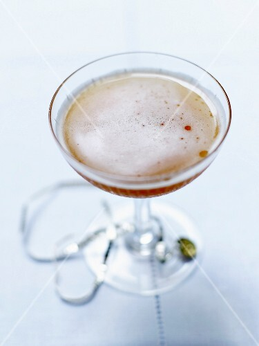 A ravanilla from the hotel bar of the Royal Monceau, Paris