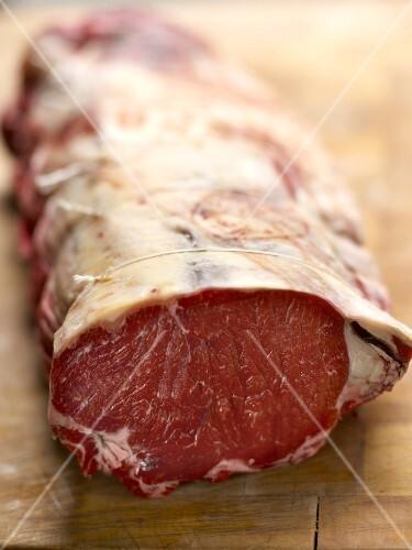 Raw meat from Aubrac