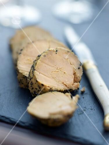 Truffled duck foie gras