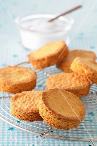 Breton shortbread biscuits