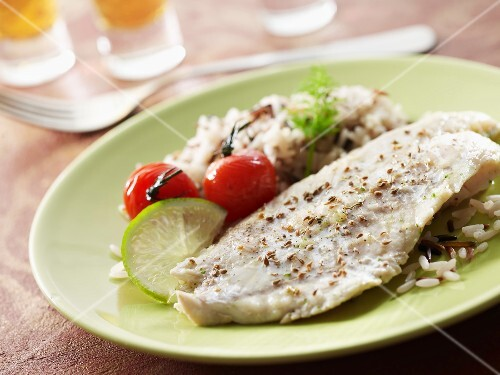 Sea bream with aniseed