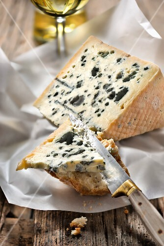 Tasting a Bleu d'Auvergne