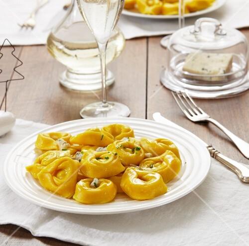 Tortellini with ricotta