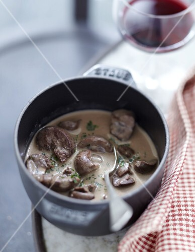 Veal kidneys with Madère