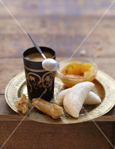 Oriental gourmet coffee