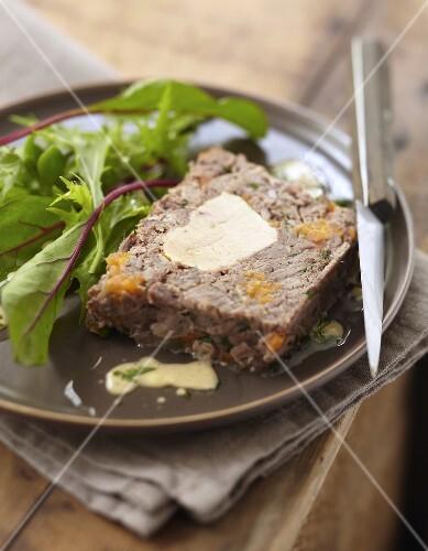 Pot-au-feu and foie gras terrine