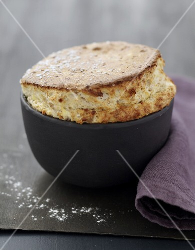 Speculos gingerbread biscuit soufflé