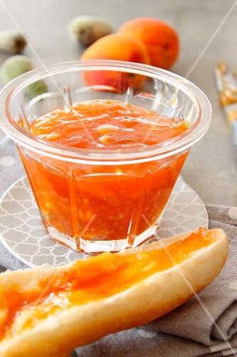 Apricot-almond jam