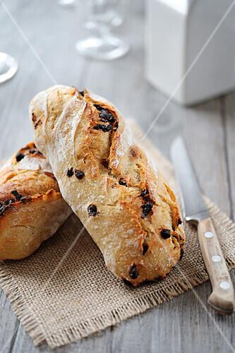 Chocolate chip bread buns
