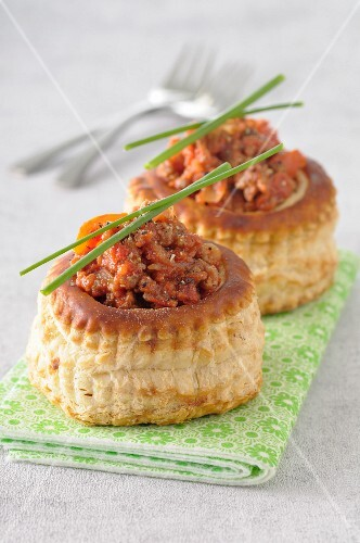 Spicy Bolognaise Vol-au-vents