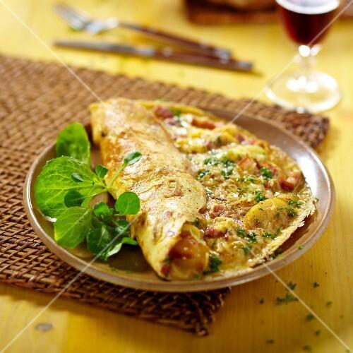 Brayaude omelette