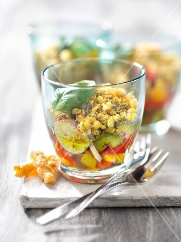 Pepper and Croustille savoury crumbles