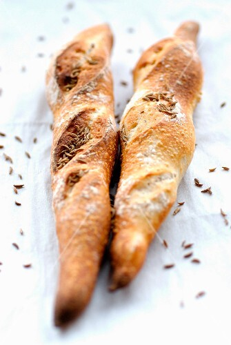 caraway-flavored Baguettes