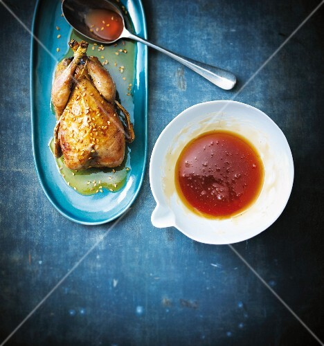 Maple syrup for roasted poultry