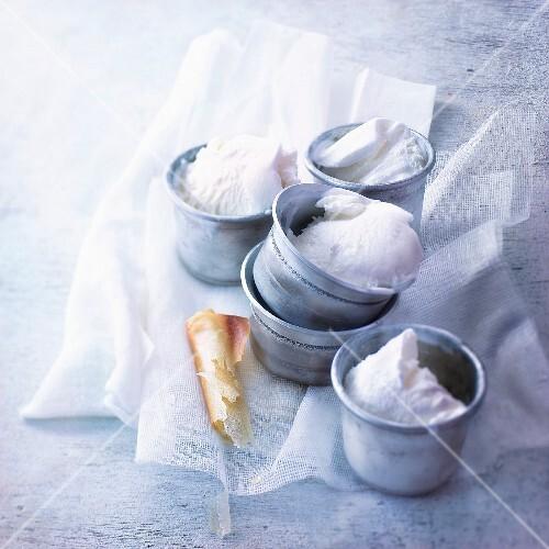 Fior di latte ice cream